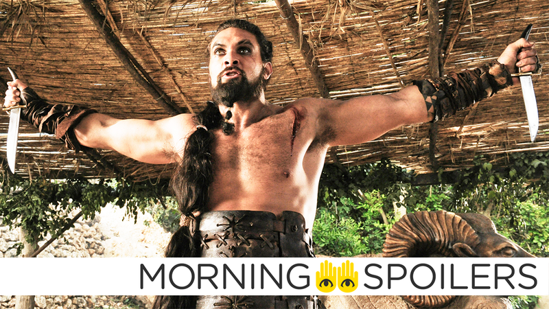 Illustration for article titled Jason Momoa Clarifies Rumors of His Potential Return to Game of Thrones