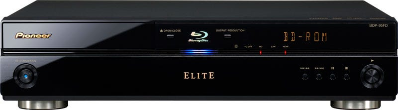 Illustration for article titled Pioneer Unveils Elite BDP-95FD Blu-ray Player