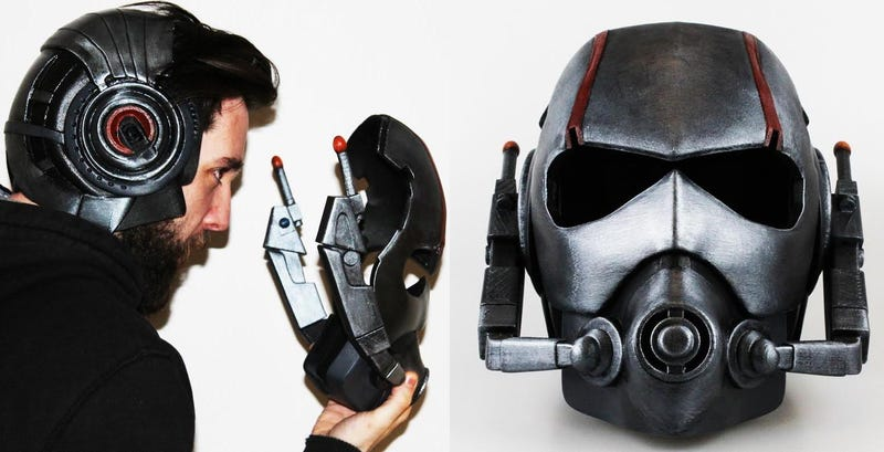 Illustration for article titled This Awesome Ant-Man Helmet Is Another 3D Printed Delight