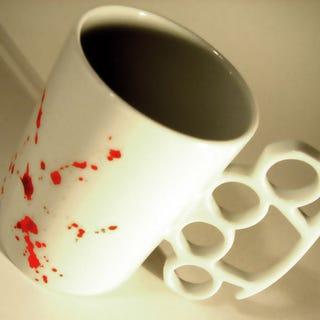 Illustration for article titled Mug! For! Aggressive! Caffeine! Addicts!