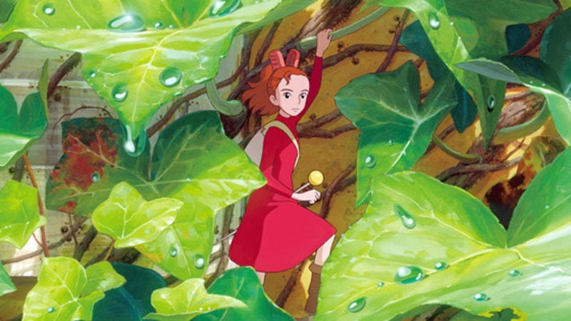 Studio Ghibli's The Secret World Of Arriety