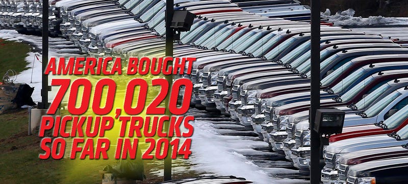Illustration for article titled US Pickup Truck Market Update: May 2014