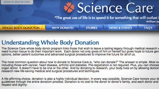 Save on Funeral Costs by Donating Your Whole Body To Science