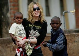 Illustration for article titled Madonna: Goodbye Jesus, Hello New Kid