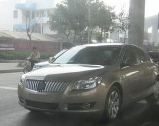 Illustration for article titled First Pictures: The Buick Regal Is Back...In China!