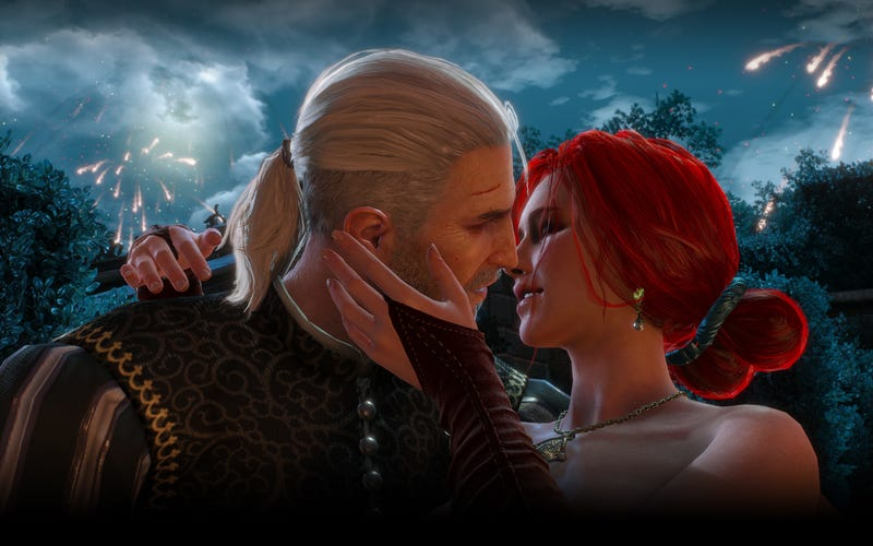 Illustration for article titled Every Sex Scene In The Witcher 3