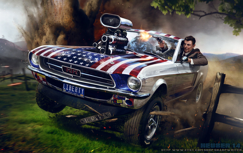 Illustration for article titled 'Merica! Fuck Yah!