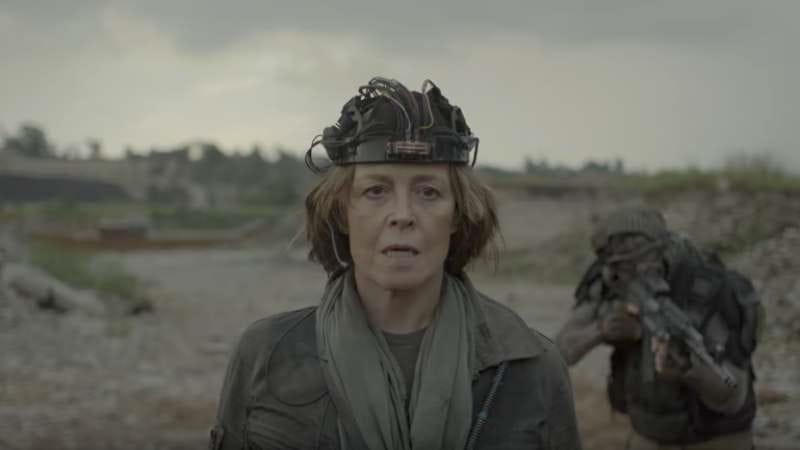 Sigourney Weaver fights off an alien invasion in Neill Blomkamp's new short film