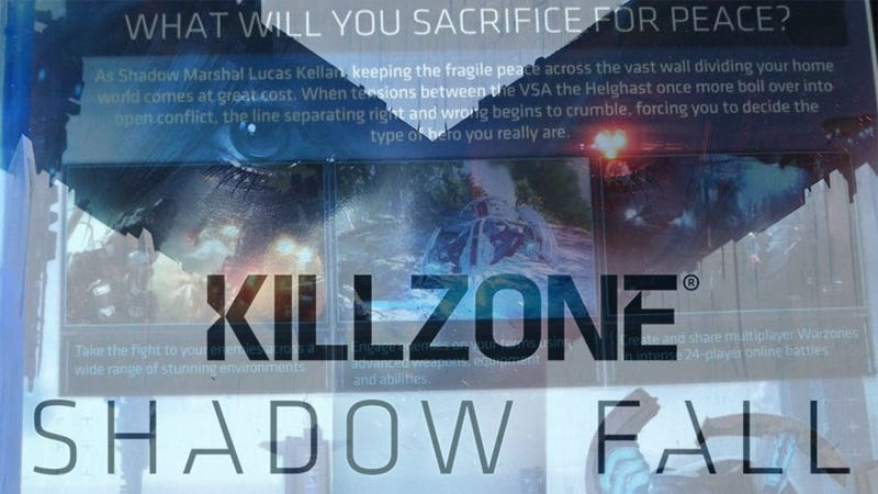 Illustration for article titled Killzone: Shadow Fall Is Out, And All We Can Do Is Sit And Stare