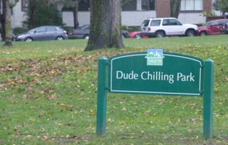 """Illustration for article titled Vancouver Moves Closer to Officially Naming a """"Dude Chilling Park"""""""
