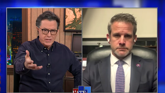Stephen Colbert get the harrowing details on Trump's failed coup from two lawmakers under siege