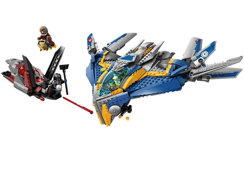 Illustration for article titled Now it's the turn of Guardians of the Galaxy Lego to get promo pictures