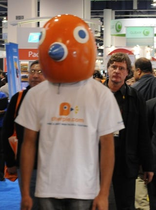 Illustration for article titled CESPool: The Saddest Man at CES, Mascot Edition