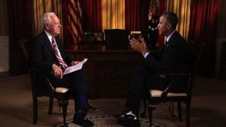 President Barack Obama, speaking on Face the Nation, took the blame for the Democrats' loss in the midterms.CBS Screenshot