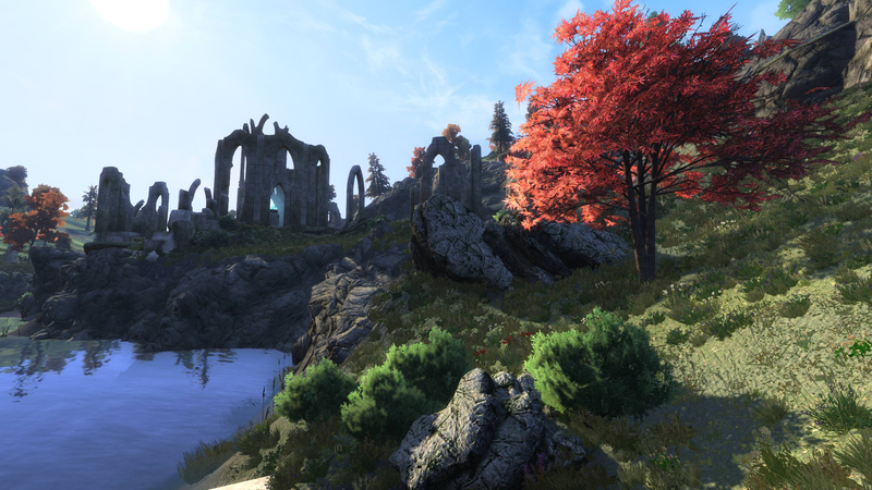 Illustration for article titled Recreating Oblivion In Skyrim Means Paying Close Attention To Trees