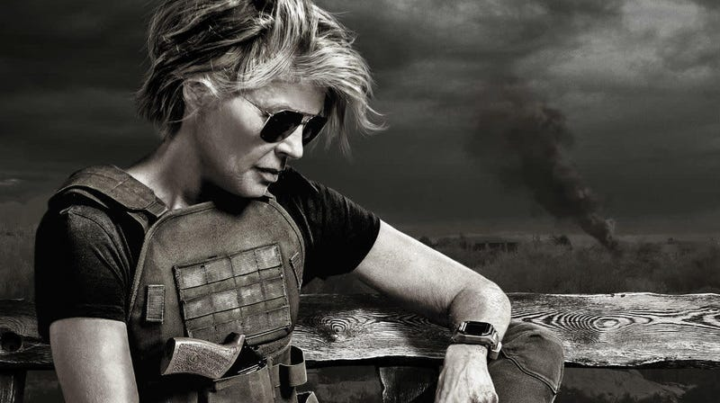 Linda Hamilton is back for Terminator: Dark Fate.