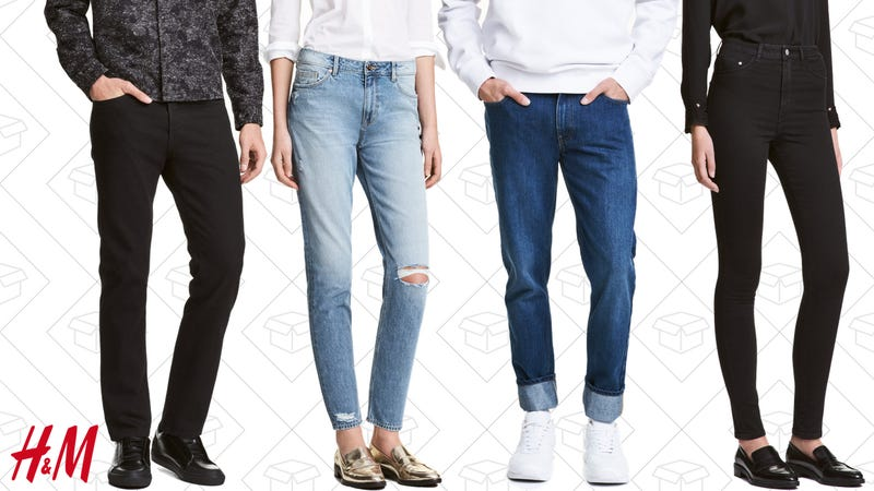 30% off denim, plus free shipping with code 2634.