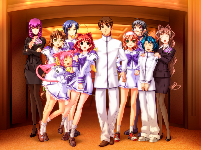 Illustration for article titled Dex, Where do I Start with Muv-Luv?