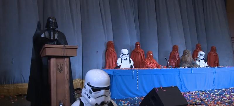Illustration for article titled Darth Vader Will Run For President of Ukraine