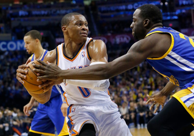 buy popular 73ec1 86494 Draymond Green And Russell Westbrook Are Beefin' Now