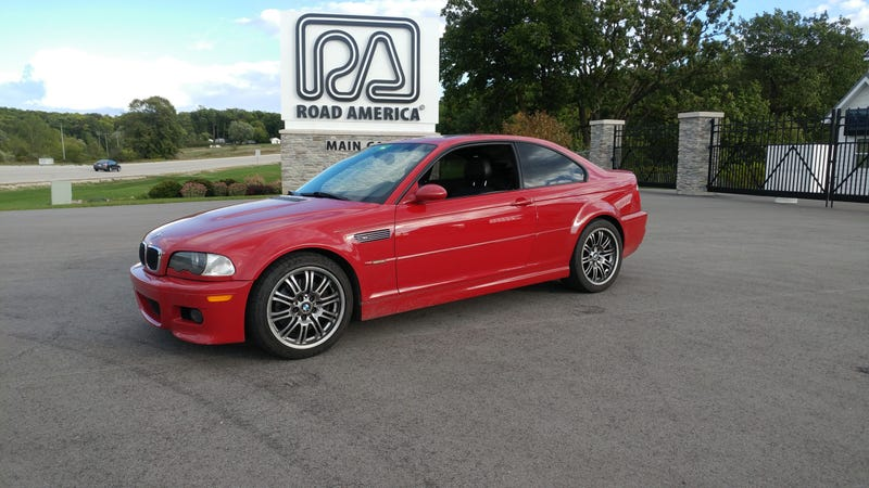 The M3 I did buy after a track day last September