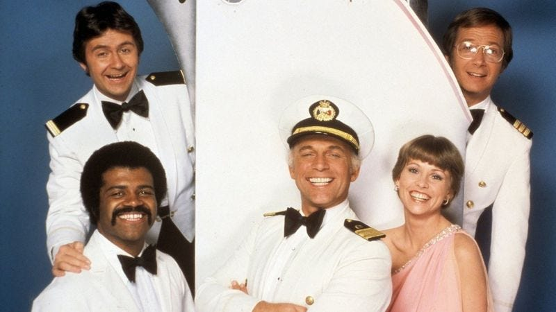 Illustration for article titled Neither critics nor production headaches could sink The Love Boat