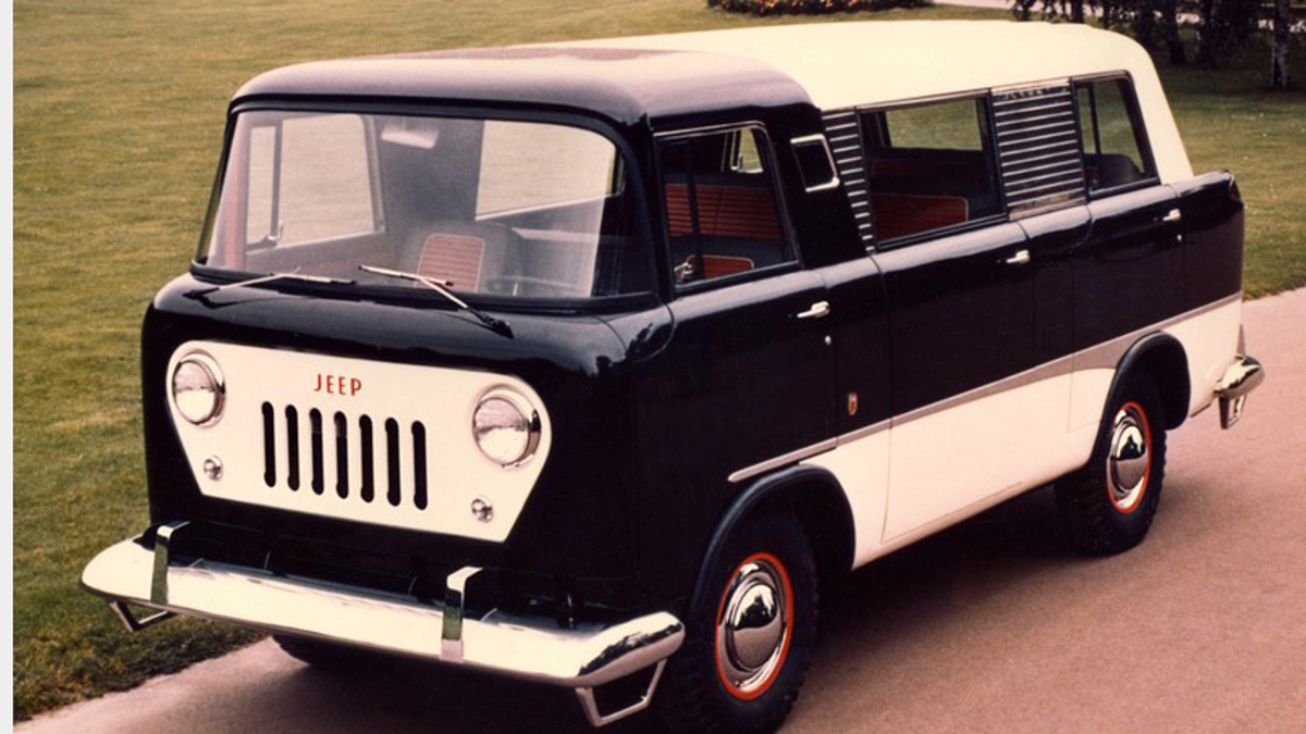 Seven Jeeps You Never Knew Existed 1950 Willys Jeep Pick Up
