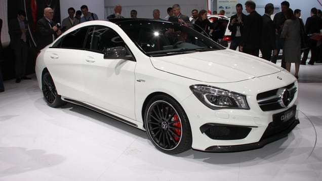 The mercedes benz cla 45 amg is the cheapest way into the for What s the cheapest mercedes benz