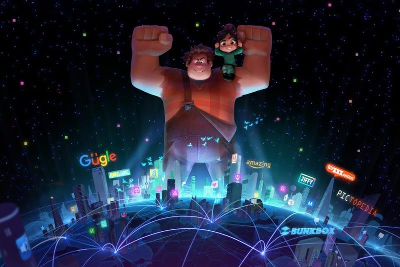 Wreck-It Ralph 2 concept art. All images: Walt Disney Animation Studios