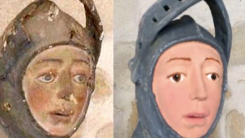 Illustration for article titled 16th Century Spanish St. George Receives Latest Amateur Facelift