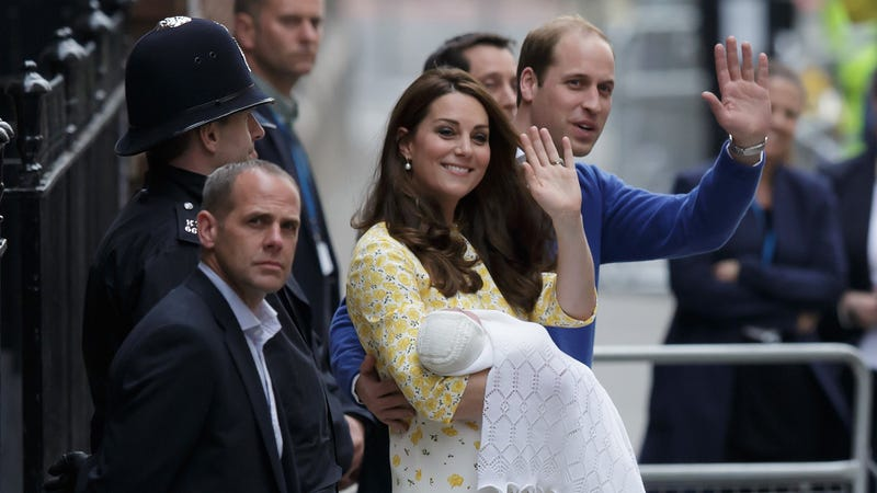 Illustration for article titled Royal Baby 3 Watch and Encampment Is on, but Where Is England?