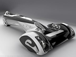 Illustration for article titled Design Student Out-Gillettes Ford With Egochine Concept