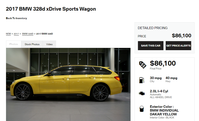 Illustration for article titled I'm Pretty Sure This BMW Dealer Is Trolling Me With Insanely Expensive Wagons