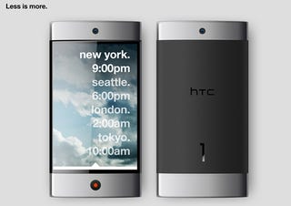 Illustration for article titled HTC 1 Concept Envisions Minimalism At Its Most Functional