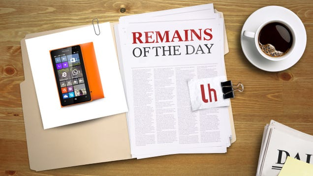 Remains of the Day: Microsoft Bows out of the Smartphone Race