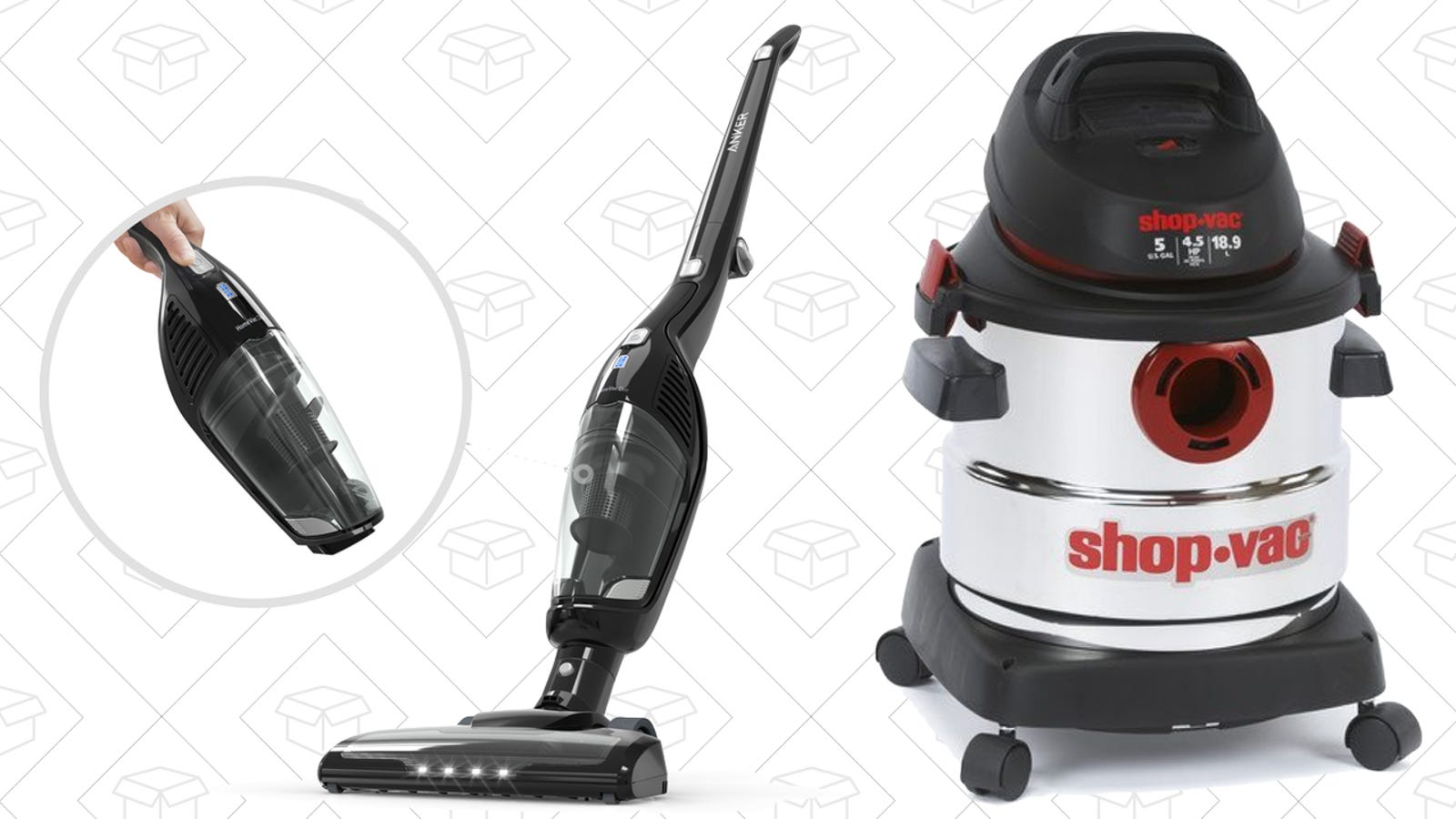 Make Vacuuming Suck Less With A Pair Of Great Discounts