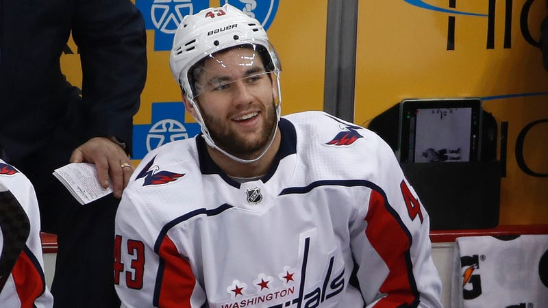 Illustration for article titled NHL Suspends Tom Wilson Three Games For Jaw-Breaking Hit