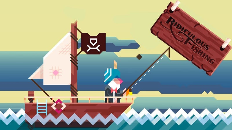 Illustration for article titled Five Years Later, Ridiculous Fishing is Still The Best Mobile Game Available