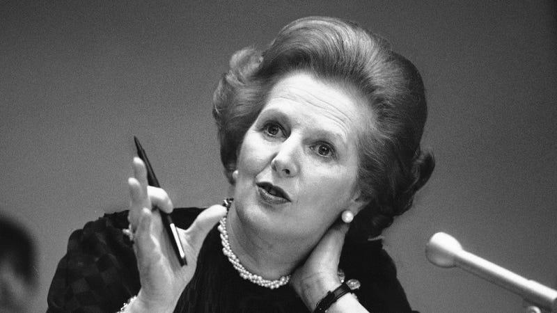 Illustration for article titled RIP Margaret Thatcher