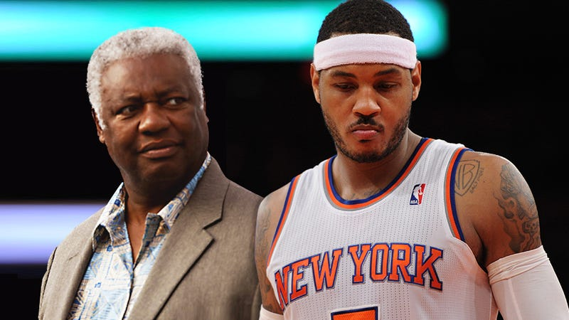 Illustration for article titled Oscar Robertson Is Right About Carmelo And The Knicks
