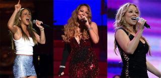 Mariah CareyLucy Nicholson/AFP/Getty Images;Dimitrios Kambouris/Getty Images for Maroon Ent./MJ Kim/Getty Images
