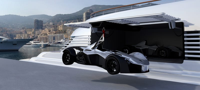 Illustration for article titled The $800,000 BAC Mono Marine Edition Is A Salt-Proof Single Seater Just For Your Yacht