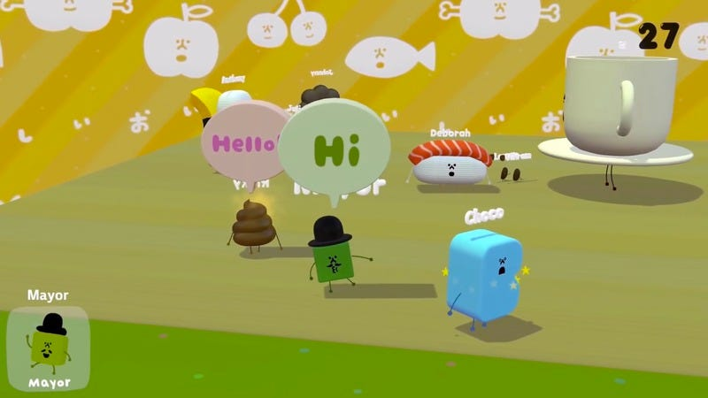Illustration for article titled A 2-year-old's playful bliss inspires the Katamari creator's latest game
