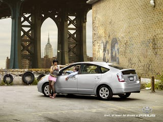 Illustration for article titled Flatulent Cows Less Classy Than These Unofficial Prius Ads