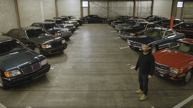 Illustration for article titled Chris Harris Visits a Room Full of the Best Cars on the Planet