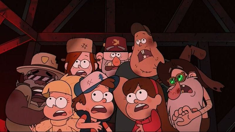 Gravity Falls has the perfect ending
