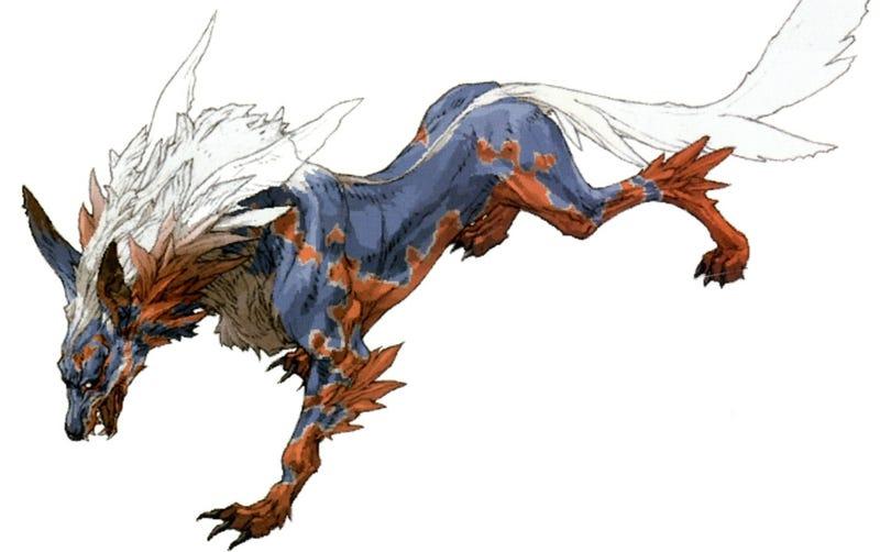 Illustration for article titled (Final) Fantasy vs. Reality: Fenrir & Valefor