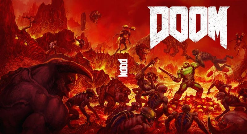 Illustration for article titled I Like What's Going On With Doom's Box Art