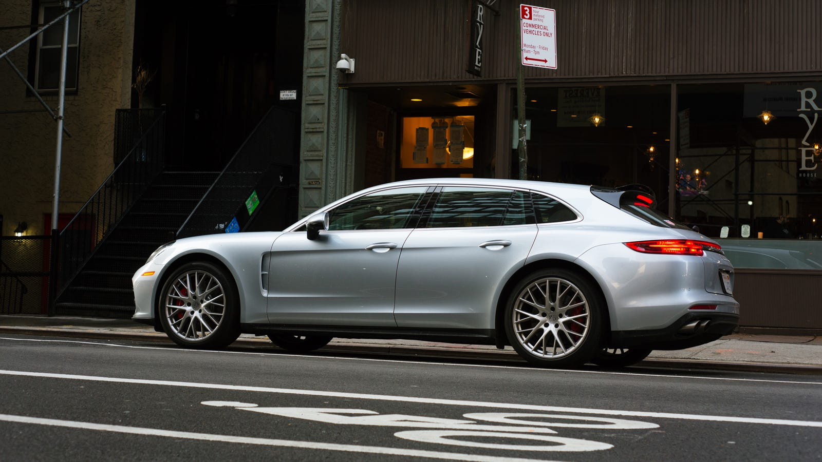 The 2019 Porsche Panamera Turbo Sport Turismo Is The Dream Wagon That Keeps Up With Supercars