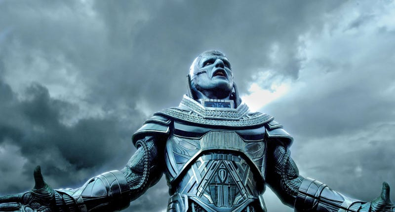 Apocalypse (Oscar Isaac) is the disappointing main villain of X-Men Apocalypse. All Images: Fox